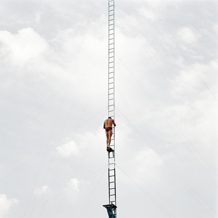 Jeff Brouws High Dive, Ventura, California, 1988  24 x 20 inches chromogenic dye coupler print