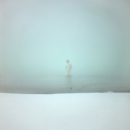 Mary Mattingly Watercrawler, 2004  30 x 30 inches chromogenic dye coupler print mounted to dibond
