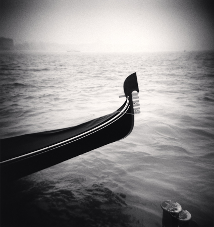 Gondola Ferro, Venice, Italy, 2006  8 x 7.5 inches edition of 45 toned silver print