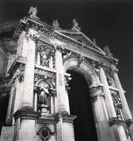 Santa Maria della Salute, Venice, Italy, 2007  8 x 7.5 inches edition of 45 toned silver print