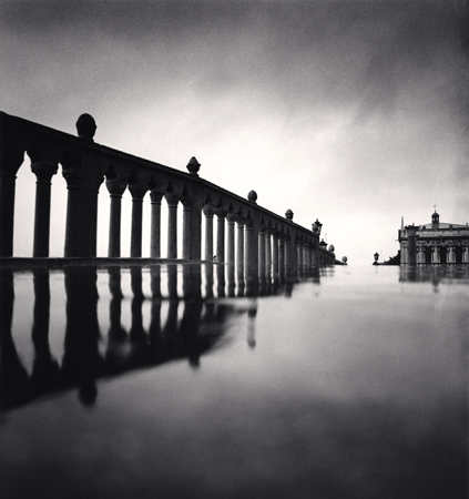 Acqua Alta Reflection, Riva degli Schiavoni, Venice, Italy, 1987  8 x 7.5 inches edition of 45 toned silver print