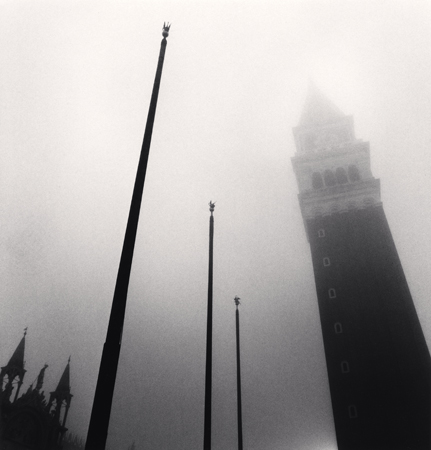 Campanile, Piazza San Marco, Venice, Italy, 2007  8 x 7.5 inches edition of 45 toned silver print