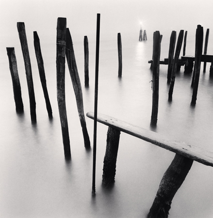 Fondamenta Nuove Poles, Venice, Italy, 2006  8 x 7.75 inches edition of 45 toned silver print