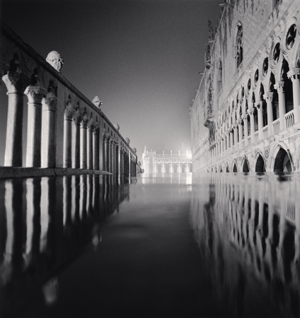 Palazzo Ducale Reflection, Venice, Italy, 1987  8 x 7.5 inches edition of 45 toned silver print