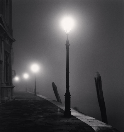 Four Lamps, Fondamenta Zattere, Venice, Italy, 2007  8.25 x 7.5 inches edition of 45 toned silver print