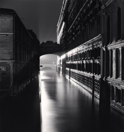 Ponte dei Sospiri, Venice, Italy, 1987  8 x 7.5 inches edition of 45 toned silver print