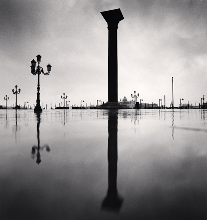 Column, Piazetta San Marco, Venice, Italy, 1987  8 x 7.5 inches edition of 45 toned silver print