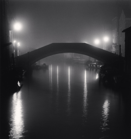 Fondamenta Bonini Bridge, Sestiere Dorsoduro, Venice, Italy, 2007  8 x 7.5 inches edition of 45 toned silver print