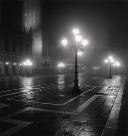 Piazzeta San Marco Lamps, Venice, Italy, 2007  8 x 8 inches edition of 45 toned silver print