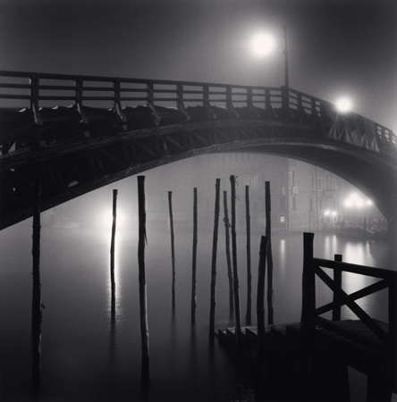 Accademia Bridge, Venice, Italy, 2007  8 x 7.75 inches edition of 45 toned silver print