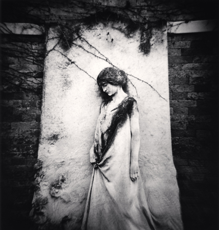 Gravestone Woman, Venice, Italy, 2006  7.75 x 7.5 inches edition of 45 toned silver print