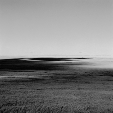 Sunlight and Shadow, Missouri Plateau, 2005 Negative #W51_10_05 from the series  West and West   24 x 24 inches edition of 5 carbon pigment print