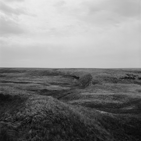 Missouri Plateau, 2005 Negative #W11_10_05 from the series  West and West   24 x 24 inches edition of 5 carbon pigment print