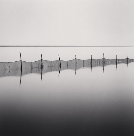Michael Kenna Fishing Nets, Smarlacca, Veneto, Italy, 2006  7.75 x 7.75 inches edition of 45 toned silver print