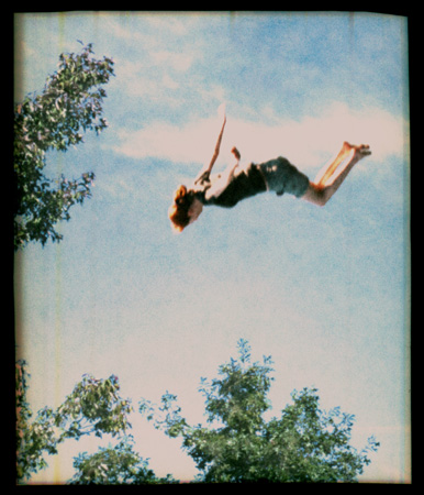 Elijah Gowin Falling in Trees 2, 2006  14 x 12 inches edition of 10 pigment inkjet print