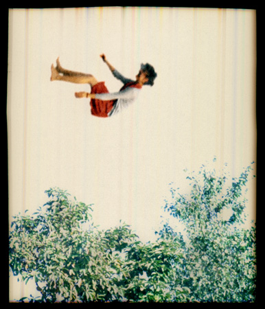 Elijah Gowin Falling in Trees 1, 2006  14 x 12 inches edition of 10 pigment inkjet print