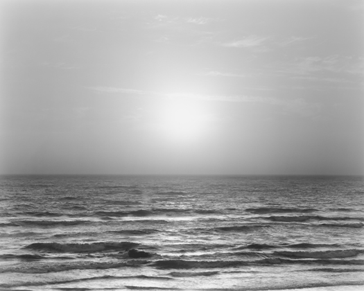 Chip Hooper Sunset, Bodega Bay, Pacific Ocean, 2009  20 x 24 inches edition of 25 silver print