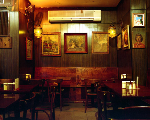 Arturo's, 106 West Houston Street, 2009  16 x 20 inches 36 x 43 inches 48 x 57 inches edition of 10 chromogenic dye coupler print