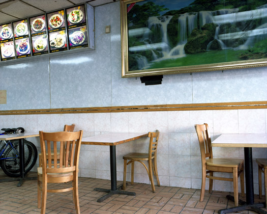 Panda, 570 9th Avenue, 2009  16 x 20 inches 36 x 43 inches 48 x 57 inches edition of 10 chromogenic dye coupler print