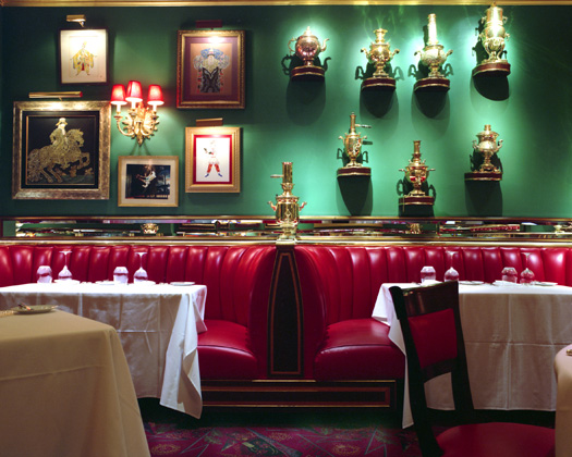 The Russian Tea Room, 150 West 57th Street, 2009  16 x 20 inches 36 x 43 inches 48 x 57 inches edition of 10 chromogenic dye coupler print
