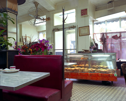 Nom Wah Tea Parlor, 13 Doyers Street, 2009  16 x 20 inches 36 x 43 inches 48 x 57 inches edition of 10 chromogenic dye coupler print