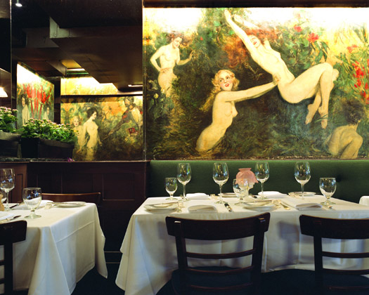 Cafe des Artistes, 1 West 67th Street, 2009  16 x 20 inches 36 x 43 inches 48 x 57 inches edition of 10 chromogenic dye coupler print