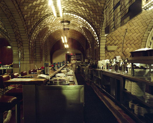 Grand Central Oyster Bar & Restaurant, Grand Central Terminal, 2009  16 x 20 inches 36 x 43 inches 48 x 57 inches edition of 10 chromogenic dye coupler print