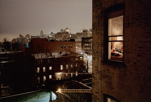 Out My Window, Brooklyn, Snow, 2007 40 x 50 inches edition of 5 archival pigment print also available in the following size: 20 x 24 inches edition of 10