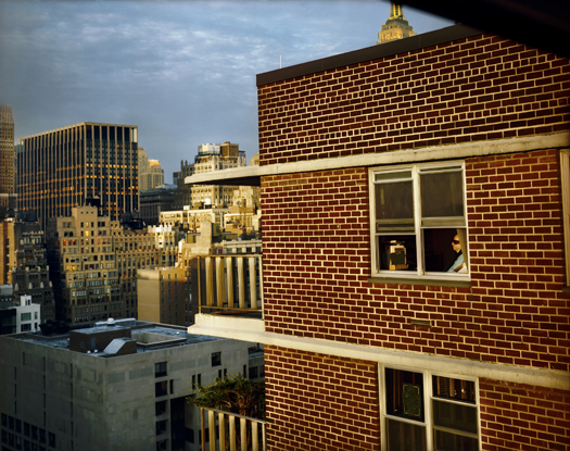 Out My Window, Chelsea, Penn South, Lou, 2008 40 x 50 inches edition of 5 archival pigment print also available in the following size: 20 x 24 inches edition of 10