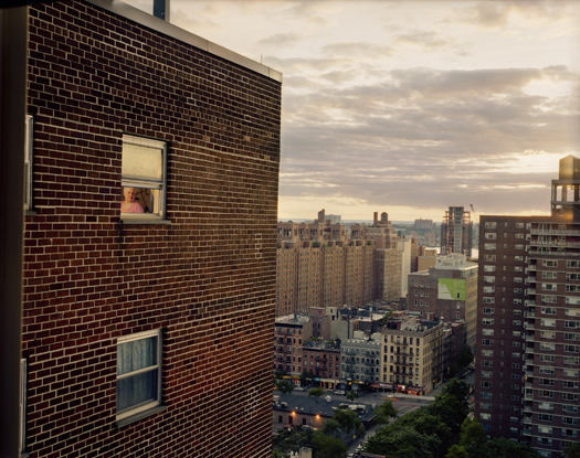 Out My Window, Chelsea, Penn South, Anita, 2008 40 x 50 inches edition of 5 archival pigment print also available in the following size: 20 x 24 inches edition of 10