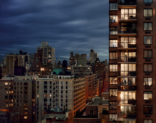 Out My Window, Upper East Side, 1438 Third Avenue, 2008 40 x 50 inches edition of 5 archival pigment print also available in the following size: 20 x 24 inches edition of 10