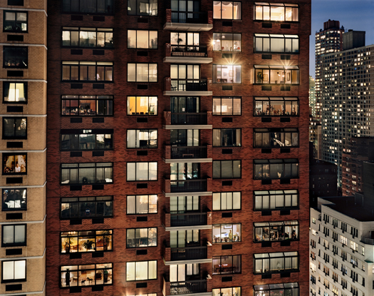 Out My Window, Upper East Side, 1441 Third Avenue, 2008 40 x 50 inches edition of 5 archival pigment print also available in the following size: 20 x 24 inches edition of 10