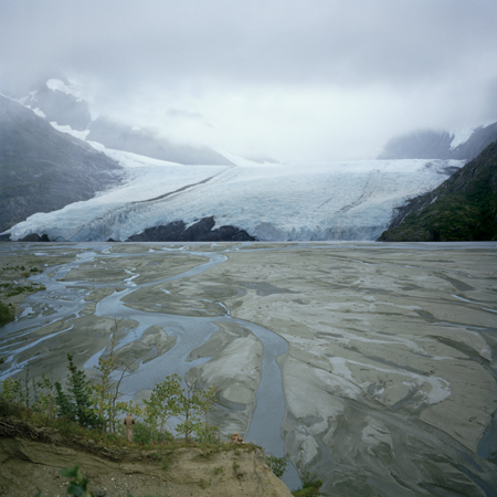 Glacial Runoff, 2008 30 x 30 inches edition of 5 chromogenic dye-coupler print mounted to dibond also available in the following size: 40 x 40 inches