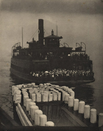 Alfred Stieglitz The Ferry Boat, 1910 8 x 6.5 inches photogravure