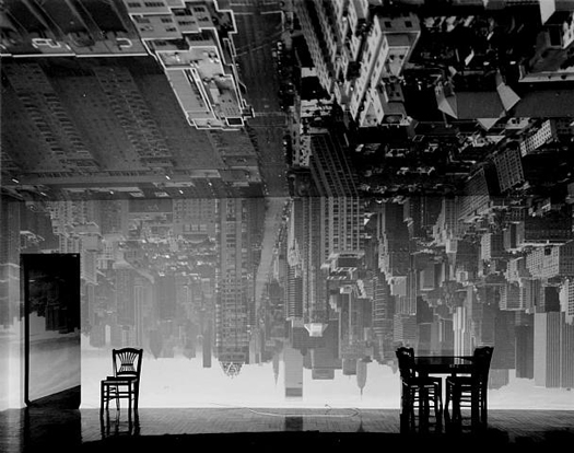 Abelardo Morell Camera Obscura Image of Manhattan View Looking South in a Large Room, 1996 20 x 24 inches silver print