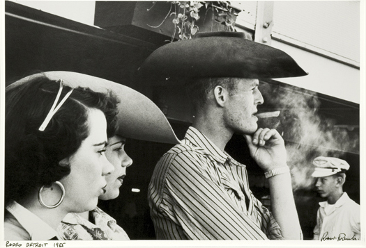 Rodeo, Detroit, 1955 11 x 14 inches silver print
