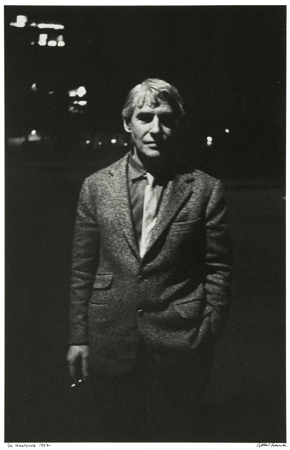 De Kooning, 1962 14 x 11 inches silver print