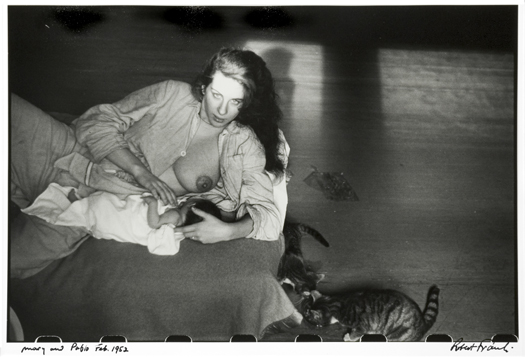 Mary and Pablo, Feb, 1952 11 x 14 inches silver print