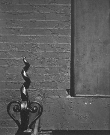 Iron Work (NYC) 1, 1947 14 x 11 inches silver print
