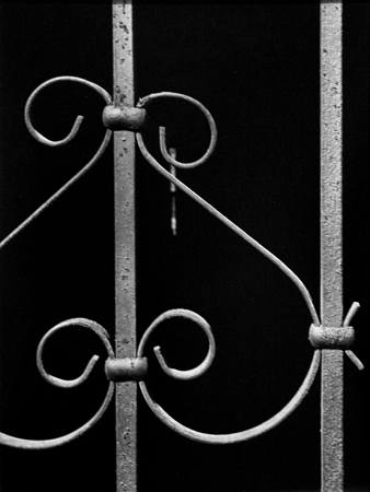 Iron Work (NYC) 2, 1947 14 x 11 inches silver print