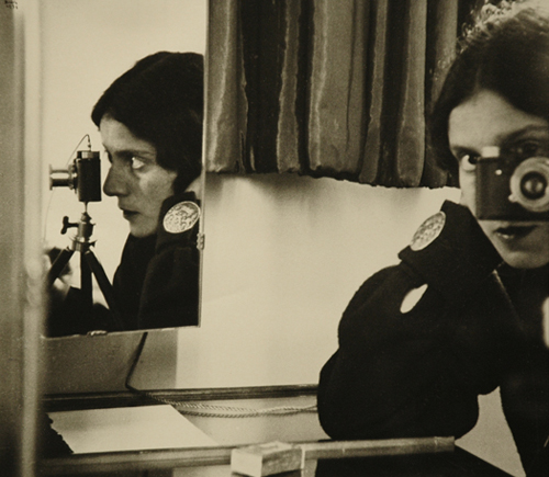 Ilse Bing Self Portrait with Leica, 1931 11 x 14 inches silver print Ex-Collection: Richard A. Lorenz