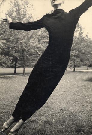 Hazel Larsen Archer Merce Cunningham, c. 1948 9.63 x 6.63 inches vintage silver print