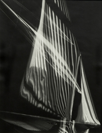 Carlotta Corpron Untitled (flowing light variation), ca. 1940s 14 x 11 inches silver print