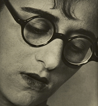 ringl+pit Ringl with Glasses, 1929 8 x 7.25 inches silver print