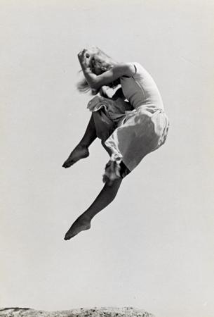 Ellen Auerbach Renate Schottelius, 1946 6.5 x 4.3 inches vintage silver print