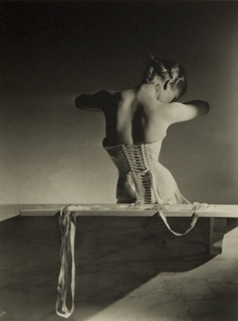 Horst P. Horst Mainbocher Corset, Paris, 1939 14 x 11 inches silver print
