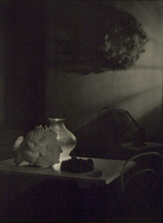 Josef Sudek Memories: Lovers III, A Variation, c.1964 15.63 x 11.63 inches silver print