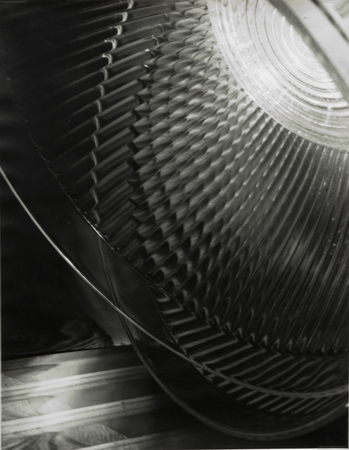 Carlotta Corpron Untitled (light and glass), c. 1940's 14 x 11 inches silver print