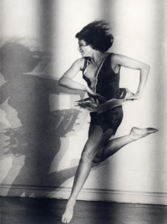 Lotte Jacobi Claire Bauroff, Dancer, Berlin, 1928 9.63 x 7.25 inches silver print