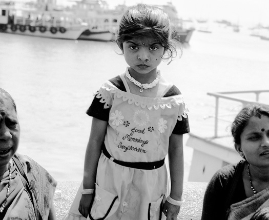 Bombay, 2004, at the Gateway to India 35 x 42.5 inches edition of 15 archival pigment print also available in the following sizes: 23 x 28 inches 60 x 72 inches